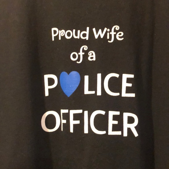 Tops - Police Officer wife shirt